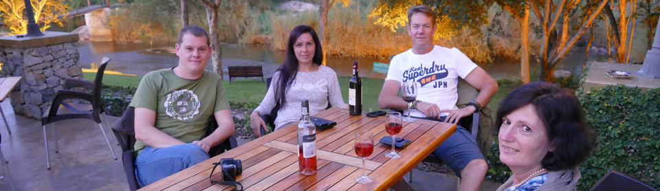 Sundowners at Hippo Hollow with Specialist Guide Nik