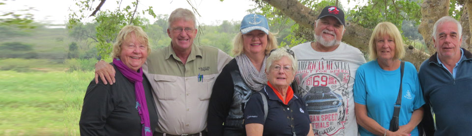 Guide Hoppy with a family from Perth